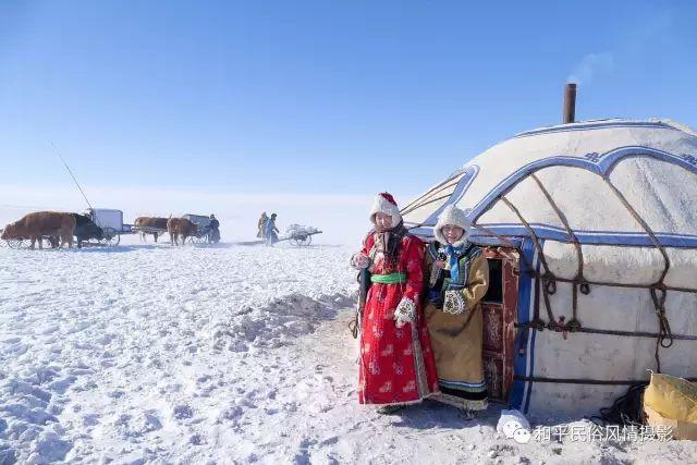 乌珠穆沁草原蒙古族搬家走场全过程 第26张 乌珠穆沁草原蒙古族搬家走场全过程 蒙古文化