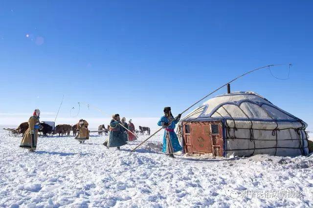 乌珠穆沁草原蒙古族搬家走场全过程 第25张 乌珠穆沁草原蒙古族搬家走场全过程 蒙古文化