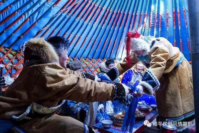 乌珠穆沁草原蒙古族搬家走场全过程 第32张 乌珠穆沁草原蒙古族搬家走场全过程 蒙古文化