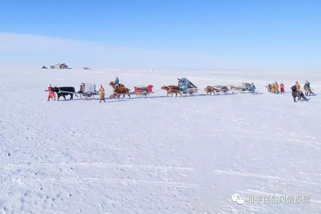 乌珠穆沁草原蒙古族搬家走场全过程 第40张 乌珠穆沁草原蒙古族搬家走场全过程 蒙古文化