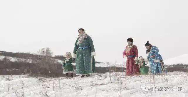 冬天的乌珠穆沁草原、美醉了 第10张 冬天的乌珠穆沁草原、美醉了 蒙古文化