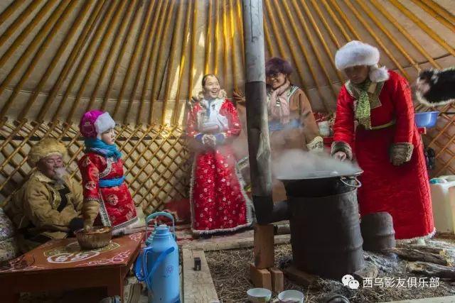 冬天的乌珠穆沁草原、美醉了 第20张 冬天的乌珠穆沁草原、美醉了 蒙古文化