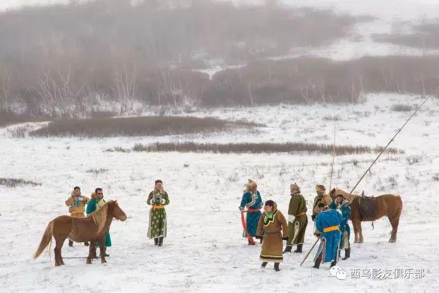 冬天的乌珠穆沁草原、美醉了 第23张 冬天的乌珠穆沁草原、美醉了 蒙古文化