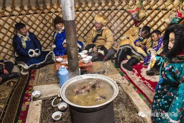 冬天的乌珠穆沁草原、美醉了 第25张 冬天的乌珠穆沁草原、美醉了 蒙古文化