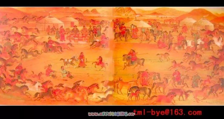 近代蒙古部落服饰  (上篇)