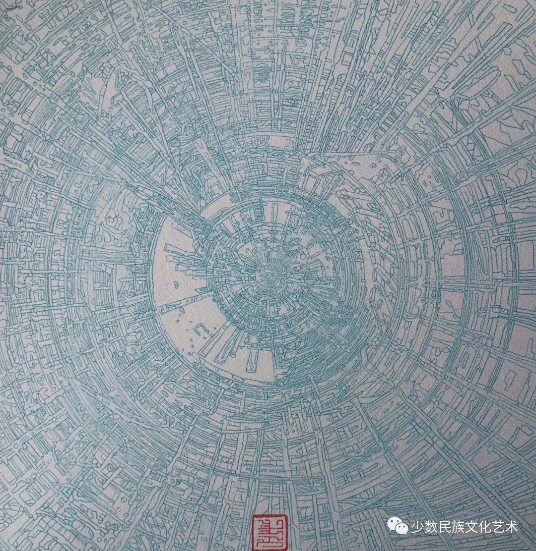 蒙古族青年画家吴智彬近作欣赏 第3张 蒙古族青年画家吴智彬近作欣赏 蒙古画廊