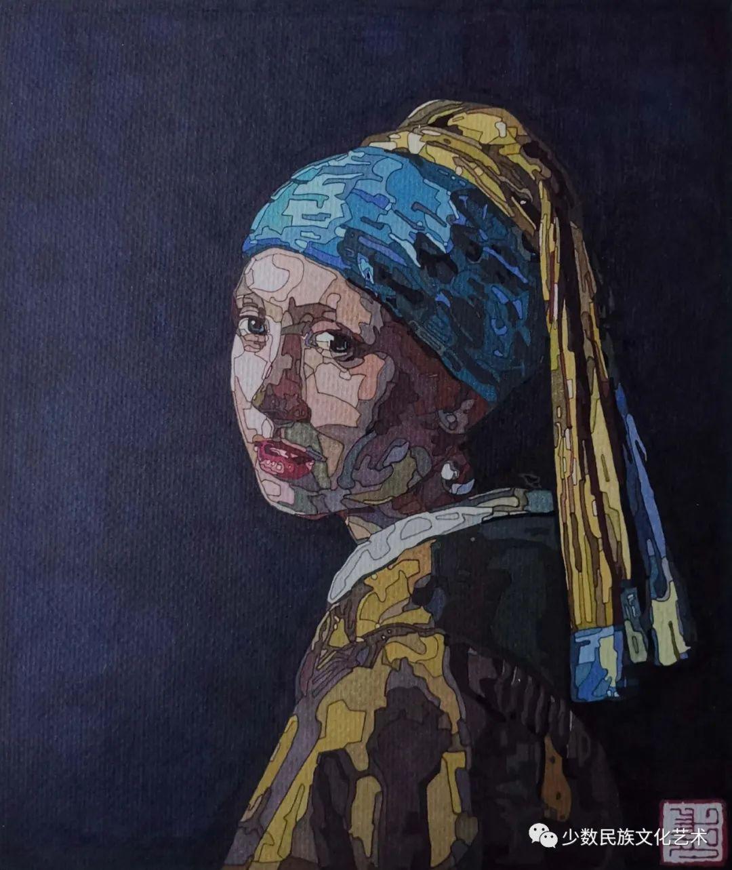蒙古族青年画家吴智彬近作欣赏 第9张 蒙古族青年画家吴智彬近作欣赏 蒙古画廊