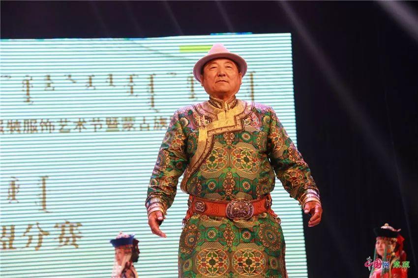 第十六届蒙古族服装服饰艺术节,绚丽多彩的蒙古袍 第24张