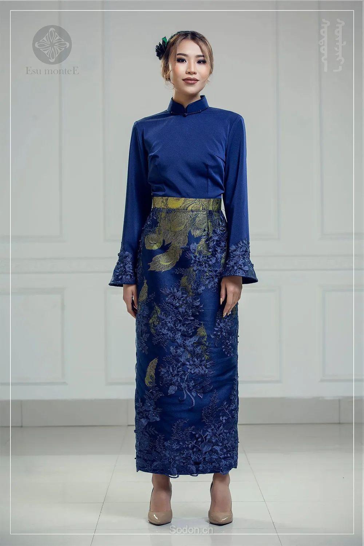 蒙古国 Esu 蒙古时装2020初冬新款首发,优雅奢华! 第3张