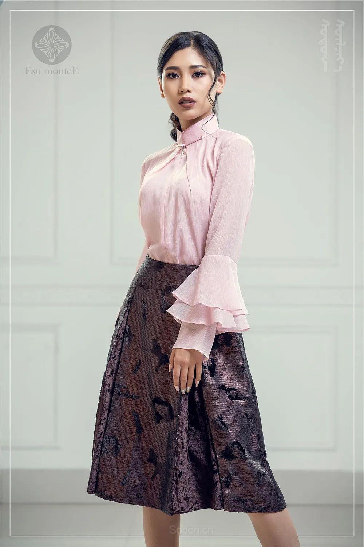 蒙古国 Esu 蒙古时装2020初冬新款首发,优雅奢华! 第8张
