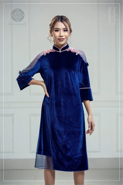 蒙古国 Esu 蒙古时装2020初冬新款首发,优雅奢华! 第6张