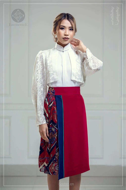 蒙古国 Esu 蒙古时装2020初冬新款首发,优雅奢华! 第13张