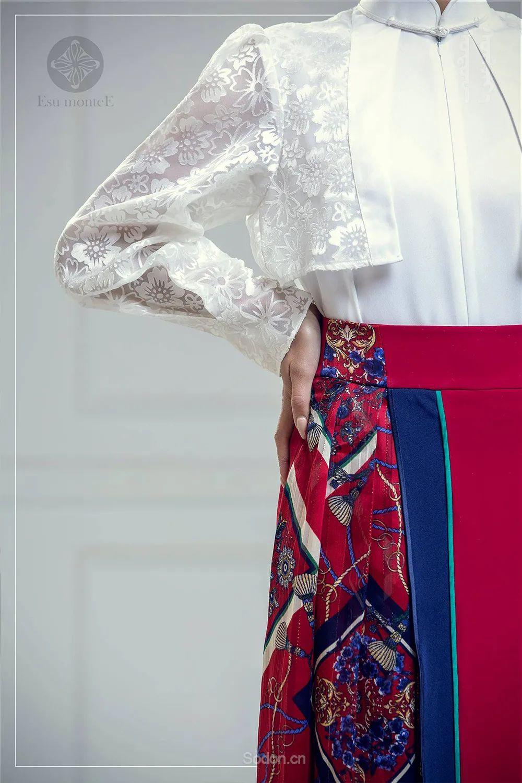 蒙古国 Esu 蒙古时装2020初冬新款首发,优雅奢华! 第14张