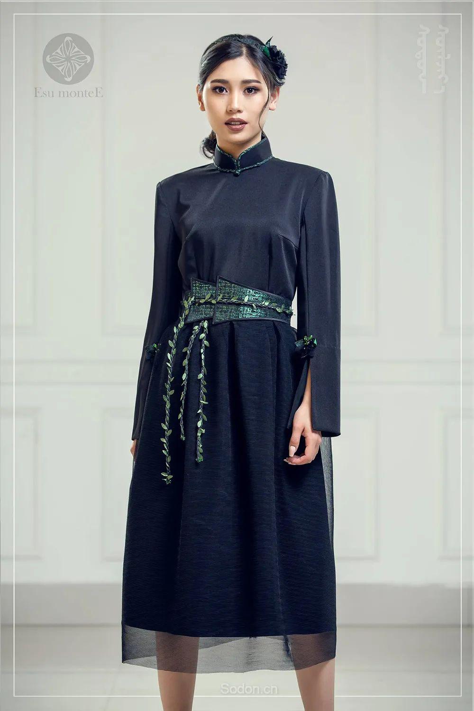 蒙古国 Esu 蒙古时装2020初冬新款首发,优雅奢华! 第19张