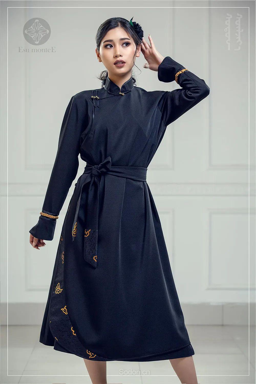 蒙古国 Esu 蒙古时装2020初冬新款首发,优雅奢华! 第21张