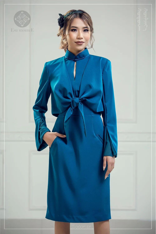 蒙古国 Esu 蒙古时装2020初冬新款首发,优雅奢华! 第17张