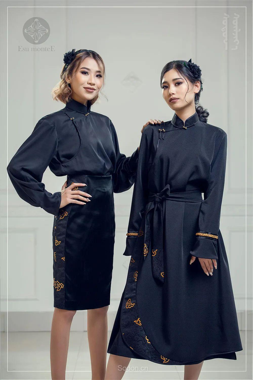 蒙古国 Esu 蒙古时装2020初冬新款首发,优雅奢华! 第22张