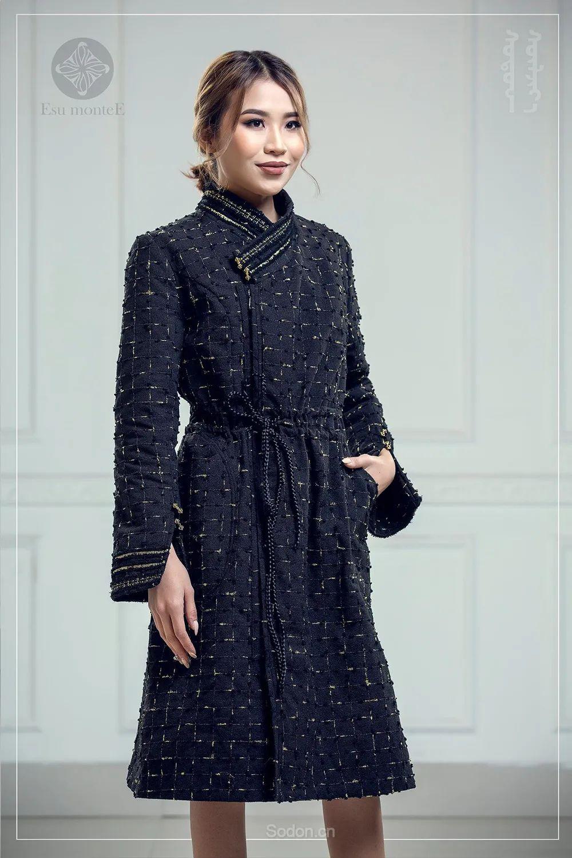 蒙古国 Esu 蒙古时装2020初冬新款首发,优雅奢华! 第26张