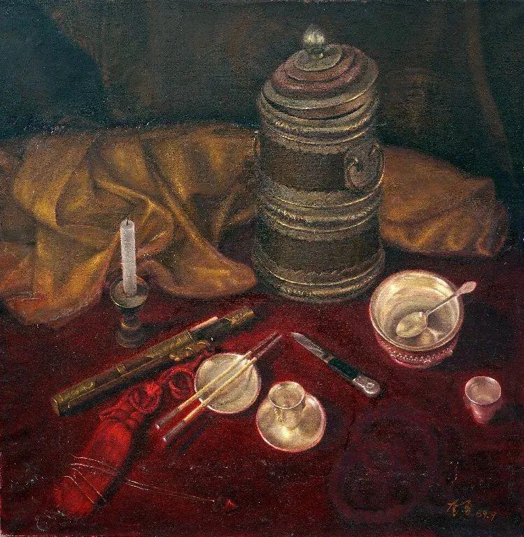 身边的名家|奎勇——一个画家的本分 第5张 身边的名家|奎勇——一个画家的本分 蒙古画廊