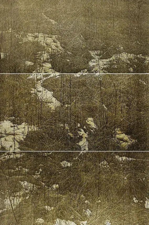 微展览丨哲里木版画:一把刻刀写给木板的传奇 第13张 微展览丨哲里木版画:一把刻刀写给木板的传奇 蒙古画廊