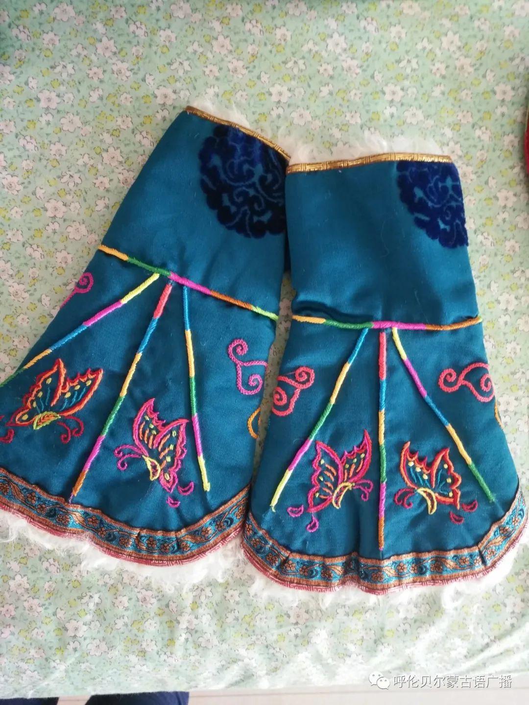 传统陈巴尔虎袍子传承人—敖登高娃 第10张 传统陈巴尔虎袍子传承人—敖登高娃 蒙古服饰