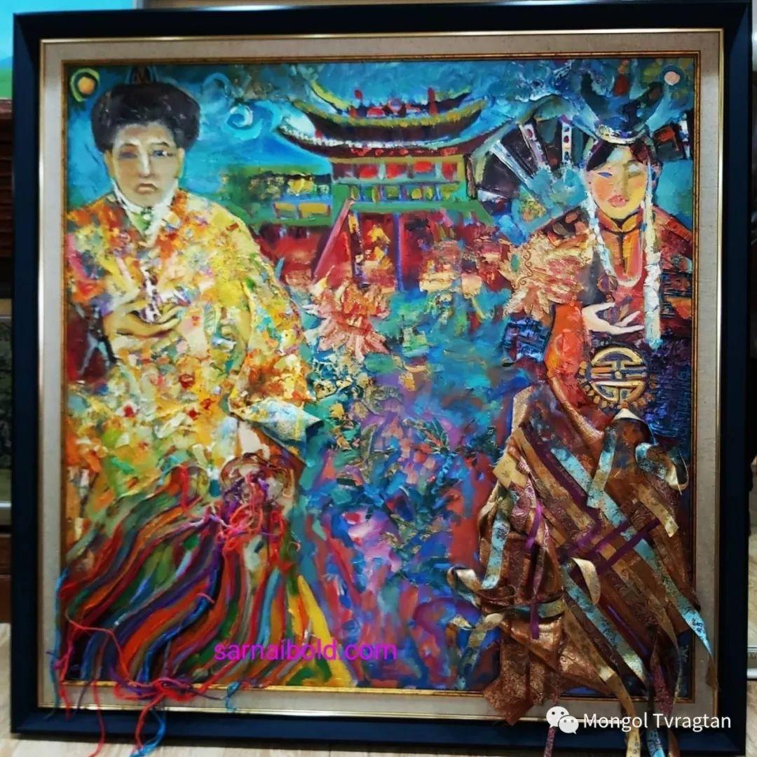 ᠤᠷᠠᠨ ᠵᠢᠷᠤᠭ -ᠪ᠂ ᠰᠠᠷᠨᠠᠢ  萨日乃美术作品 第13张 ᠤᠷᠠᠨ ᠵᠢᠷᠤᠭ -ᠪ᠂ ᠰᠠᠷᠨᠠᠢ  萨日乃美术作品 蒙古画廊