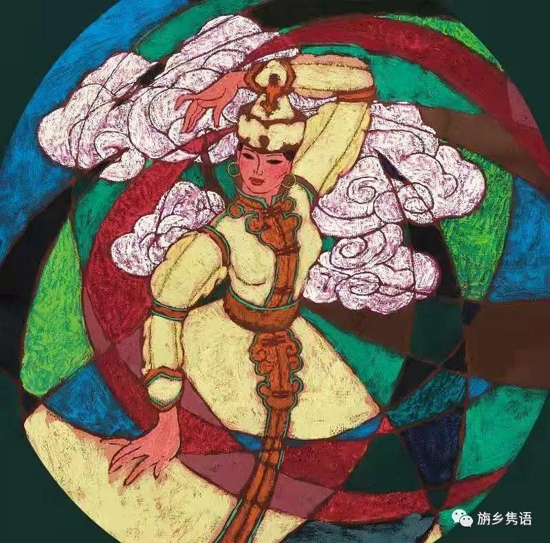 那仁夫谈民族文化与艺术创作 第15张 那仁夫谈民族文化与艺术创作 蒙古画廊