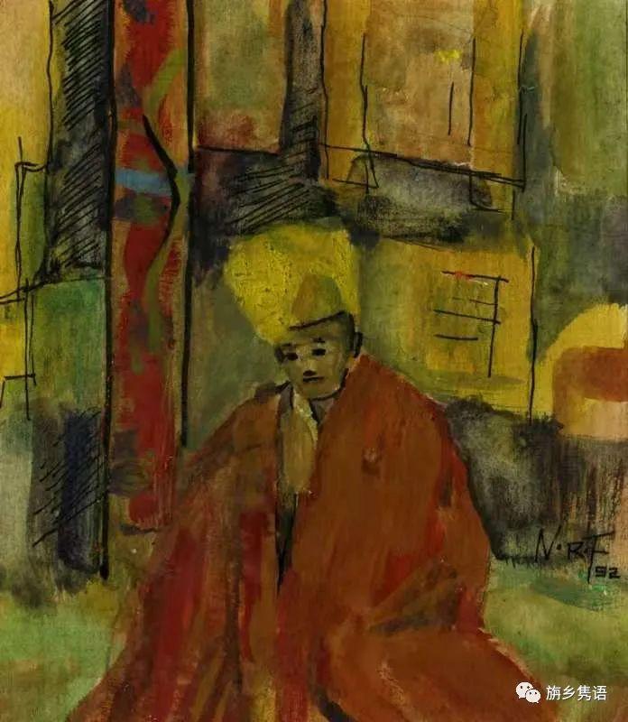 那仁夫谈民族文化与艺术创作 第14张 那仁夫谈民族文化与艺术创作 蒙古画廊