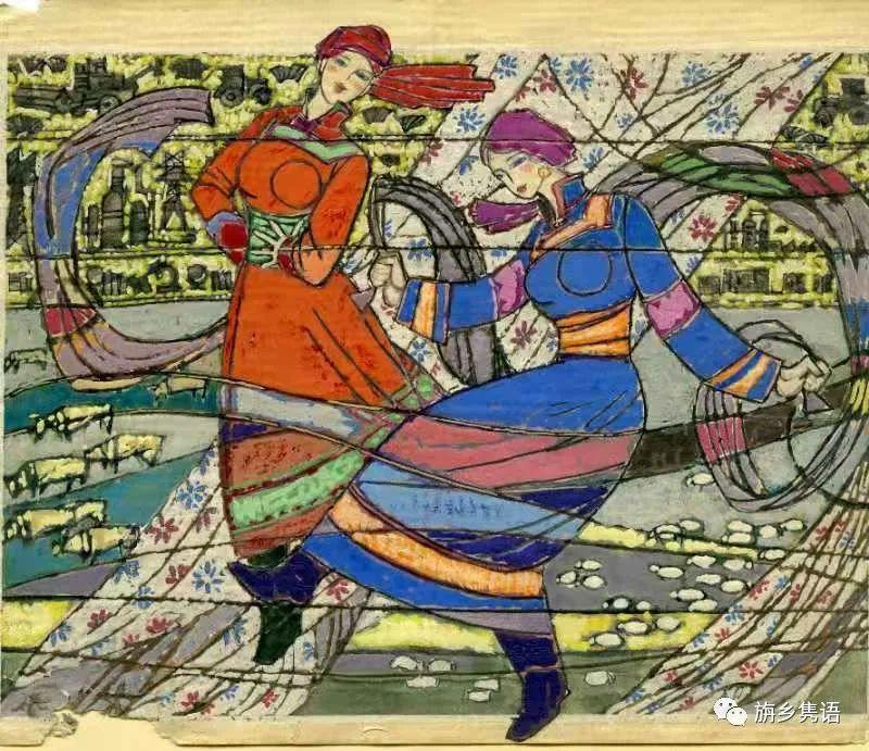 那仁夫谈民族文化与艺术创作 第16张 那仁夫谈民族文化与艺术创作 蒙古画廊