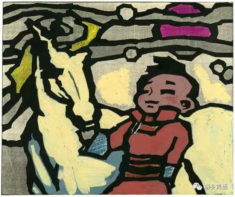 那仁夫谈民族文化与艺术创作 第17张 那仁夫谈民族文化与艺术创作 蒙古画廊