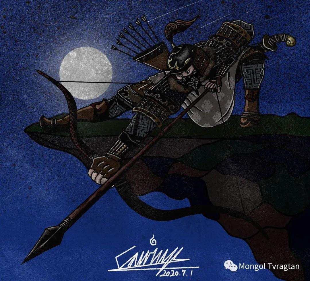 蒙古插画师 散其尔ᠮᠣᠩᠭᠣᠯ ᠵᠢᠷᠤᠭᠠᠴᠢ ᠆᠆᠆ ᠭᠣᠴᠢᠳ ᠣᠨ ᠰᠠᠨᠢᠴᠢᠷ 第4张 蒙古插画师 散其尔ᠮᠣᠩᠭᠣᠯ ᠵᠢᠷᠤᠭᠠᠴᠢ ᠆᠆᠆ ᠭᠣᠴᠢᠳ ᠣᠨ ᠰᠠᠨᠢᠴᠢᠷ 蒙古画廊