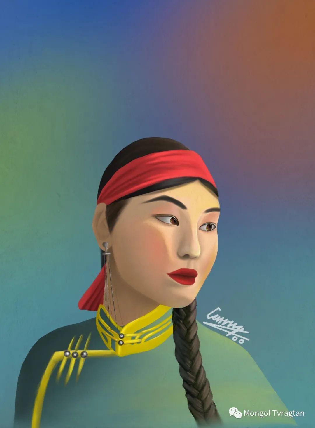 蒙古插画师 散其尔ᠮᠣᠩᠭᠣᠯ ᠵᠢᠷᠤᠭᠠᠴᠢ ᠆᠆᠆ ᠭᠣᠴᠢᠳ ᠣᠨ ᠰᠠᠨᠢᠴᠢᠷ 第9张 蒙古插画师 散其尔ᠮᠣᠩᠭᠣᠯ ᠵᠢᠷᠤᠭᠠᠴᠢ ᠆᠆᠆ ᠭᠣᠴᠢᠳ ᠣᠨ ᠰᠠᠨᠢᠴᠢᠷ 蒙古画廊