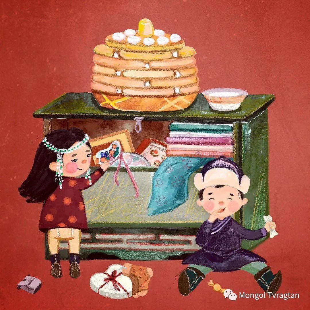 插画师-朱拉 第2张 插画师-朱拉 蒙古画廊