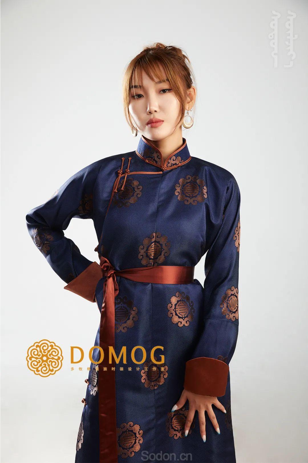 DOMOG 蒙古时装2020新款,民族与时尚的融合