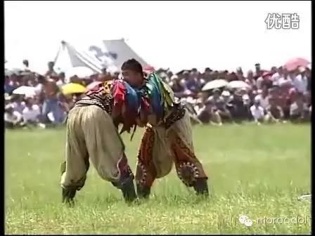 卐【蒙古博克】千人跤王-阿拉坦苏和图集 第12张