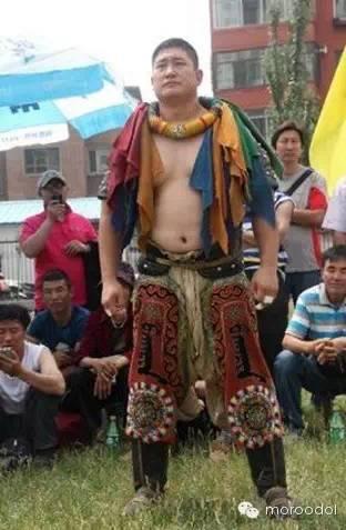 卐【蒙古博克】千人跤王-阿拉坦苏和图集 第37张
