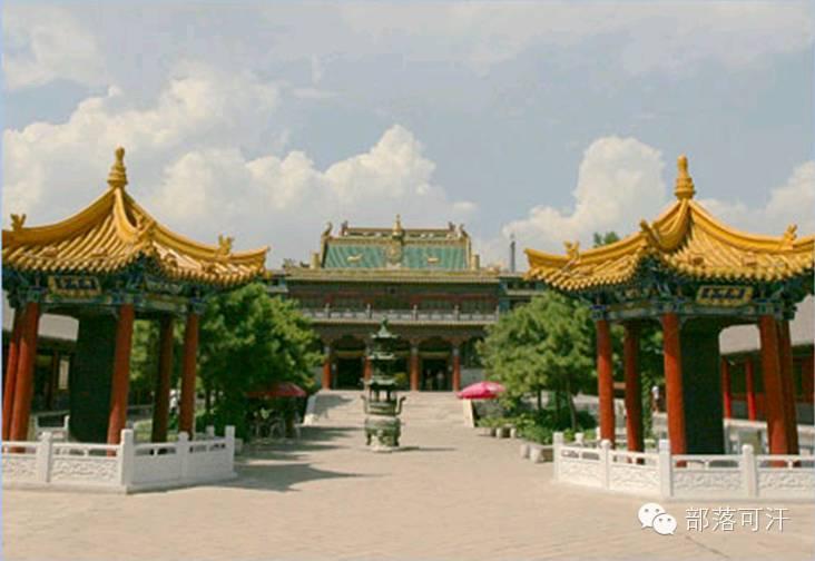 蒙古族建筑文化之宗教建筑(呼和浩特) 第3张