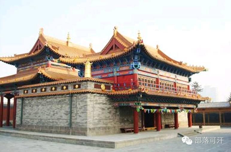 蒙古族建筑文化之宗教建筑(呼和浩特) 第1张