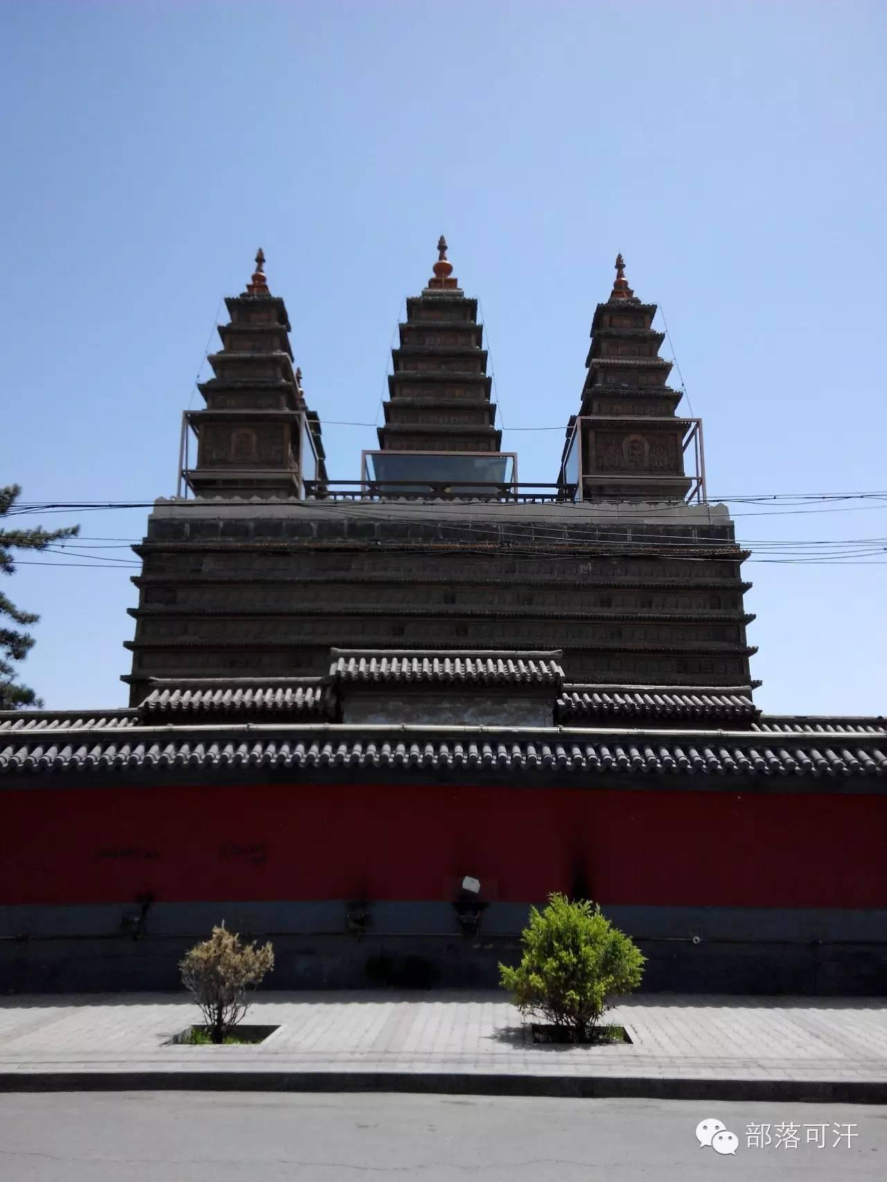 蒙古族建筑文化之宗教建筑(呼和浩特) 第5张