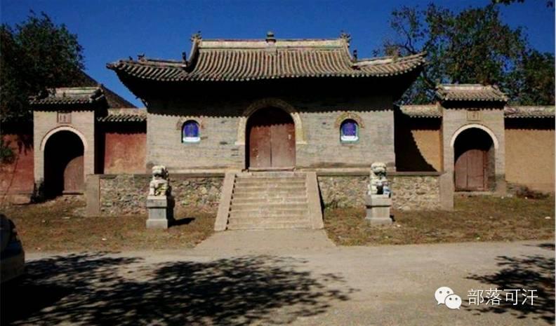 蒙古族建筑文化之宗教建筑(呼和浩特) 第8张