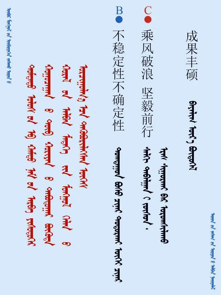 中共十九届五中全会 ------ 词语翻译摘录(蒙古文) 第1张 中共十九届五中全会 ------ 词语翻译摘录(蒙古文) 蒙古文库