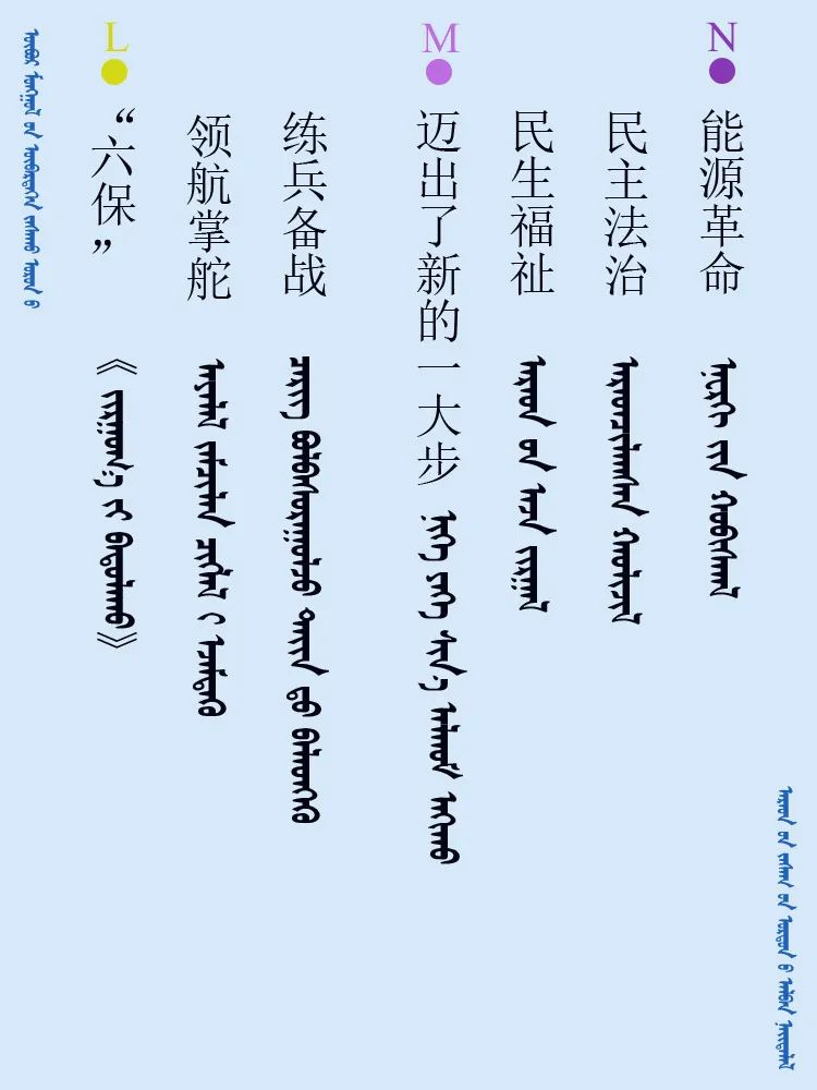 中共十九届五中全会 ------ 词语翻译摘录(蒙古文) 第6张 中共十九届五中全会 ------ 词语翻译摘录(蒙古文) 蒙古文库