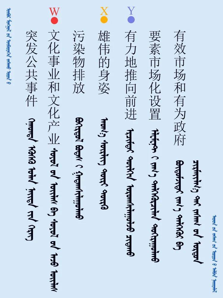 中共十九届五中全会 ------ 词语翻译摘录(蒙古文) 第9张 中共十九届五中全会 ------ 词语翻译摘录(蒙古文) 蒙古文库