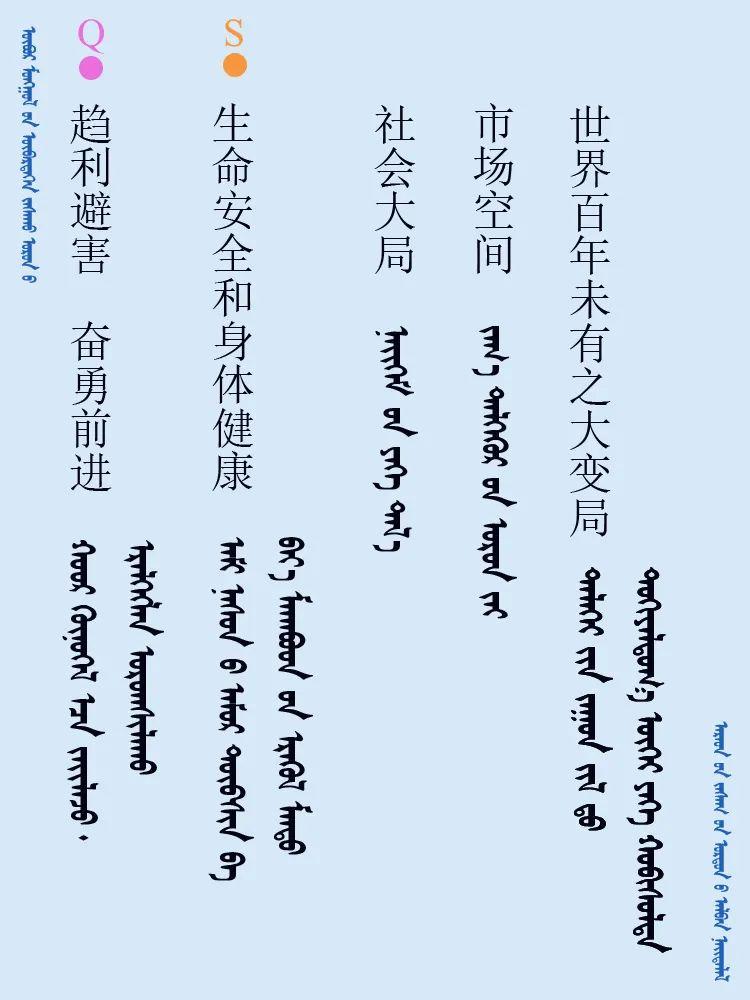 中共十九届五中全会 ------ 词语翻译摘录(蒙古文) 第7张 中共十九届五中全会 ------ 词语翻译摘录(蒙古文) 蒙古文库