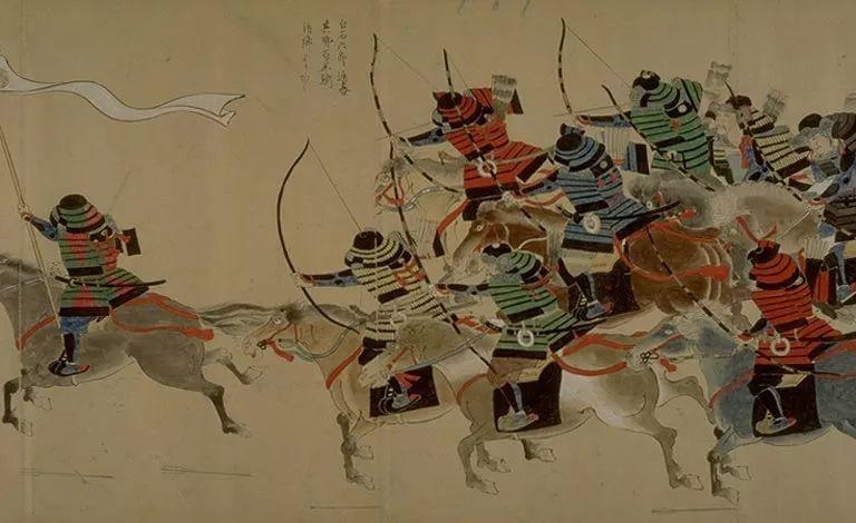 日本传世名画《蒙古袭来绘词》 第3张
