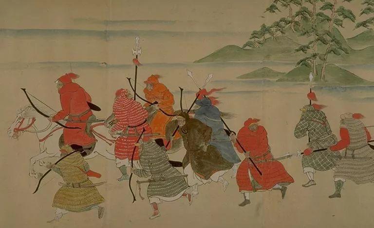 日本传世名画《蒙古袭来绘词》 第2张