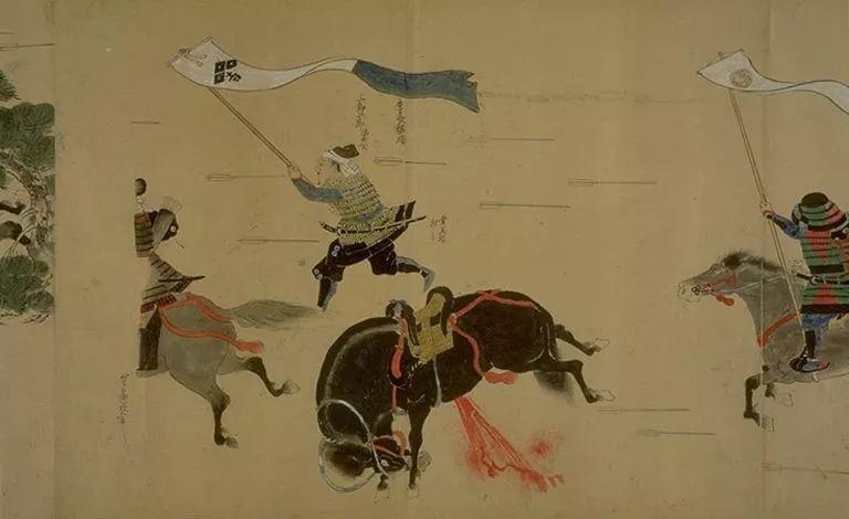 日本传世名画《蒙古袭来绘词》 第6张