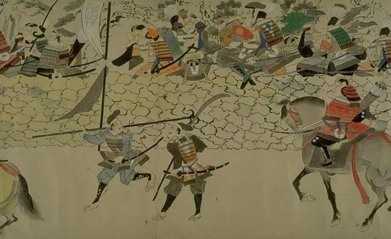 日本传世名画《蒙古袭来绘词》 第8张