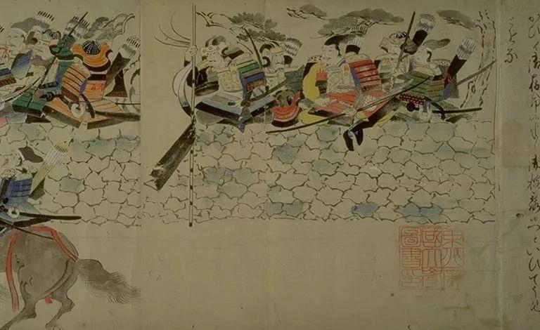 日本传世名画《蒙古袭来绘词》 第7张