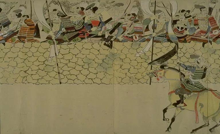 日本传世名画《蒙古袭来绘词》 第9张